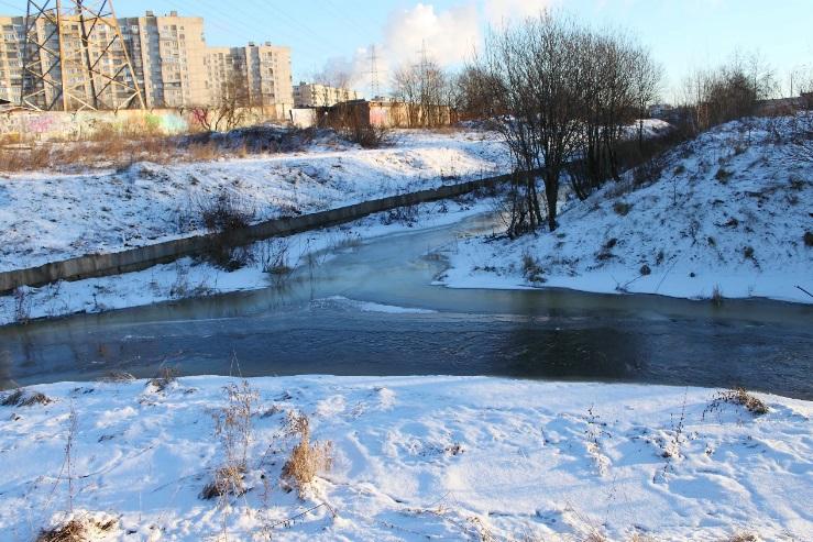 шушарский ручей волковский канал