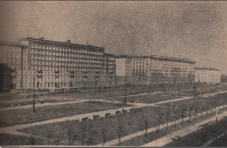 Бульвар Красных Зорь 1965-1968