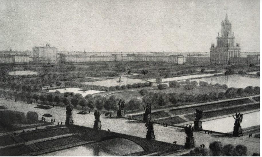 Предполагаемый мост через Южный Обводный канал