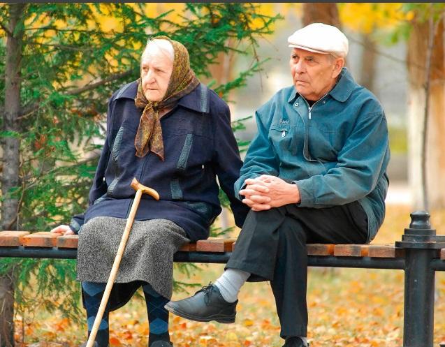 пенсионеры фото спб