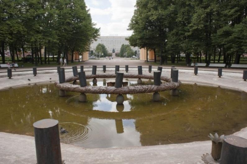 московский парк победы спб фонтан