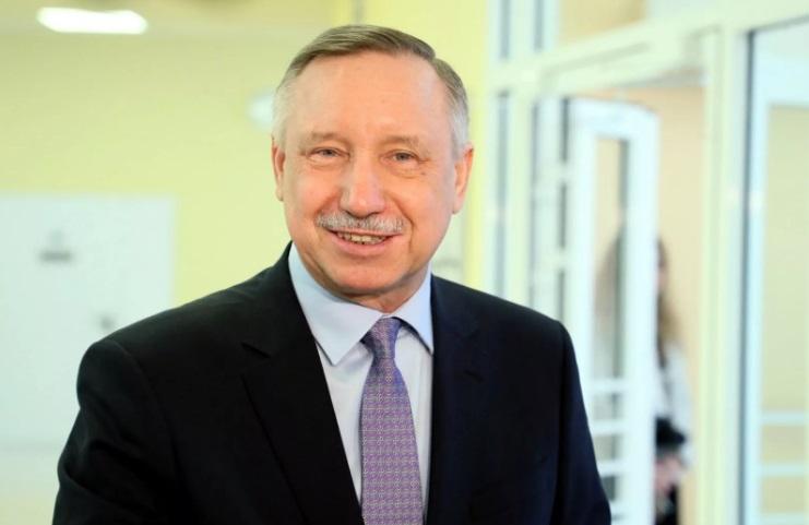 александр беглов губернатор