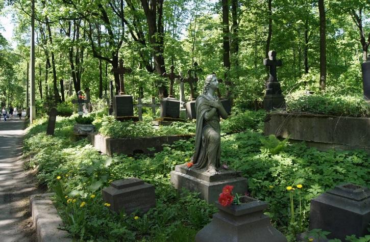 смоленское кладбище фото