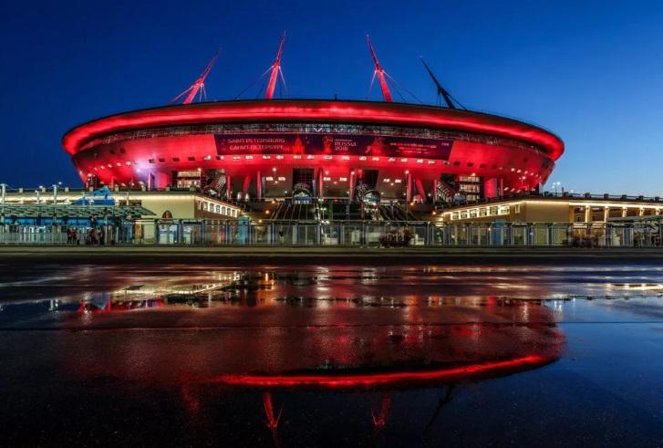 стадион зенита фото