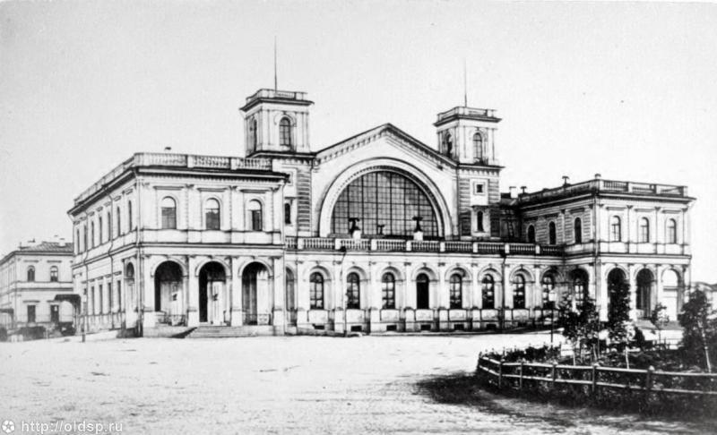 балтийский вокзал старое фото