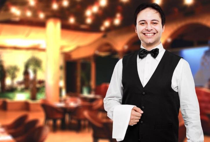 вакансия официанта петербург