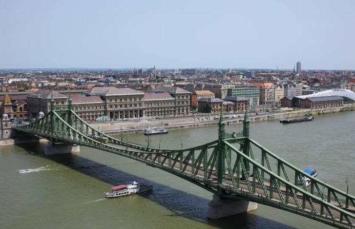 будапешт мост через дунай венгрия