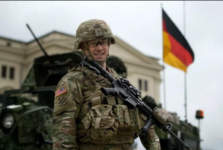 солдат сша в германии