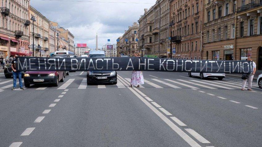 активисты перекрыли невский 16 июля