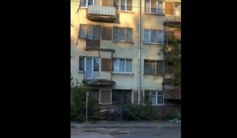 обрушение балконов на лесном