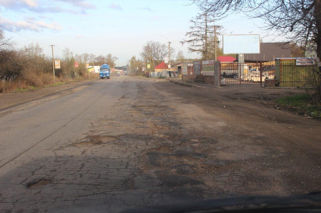 расширение колтушского шоссе в янино