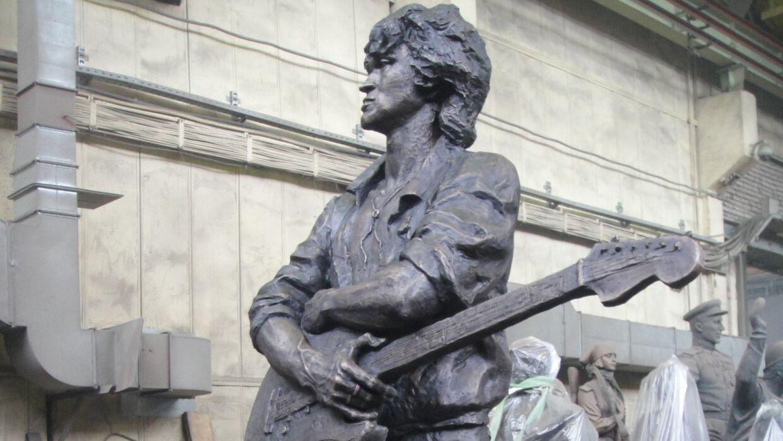 где находится памятник цою в петербурге
