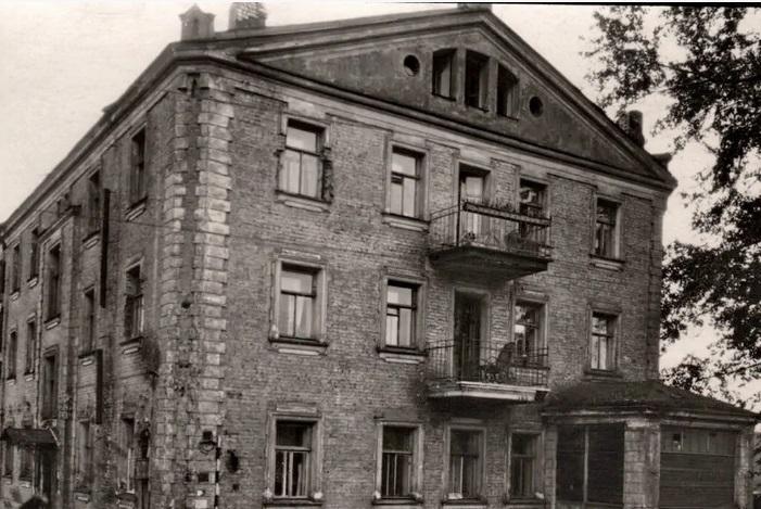 1-й муринский, ленинград, 1950-е