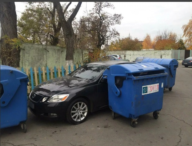 мусорка мусорная площадка
