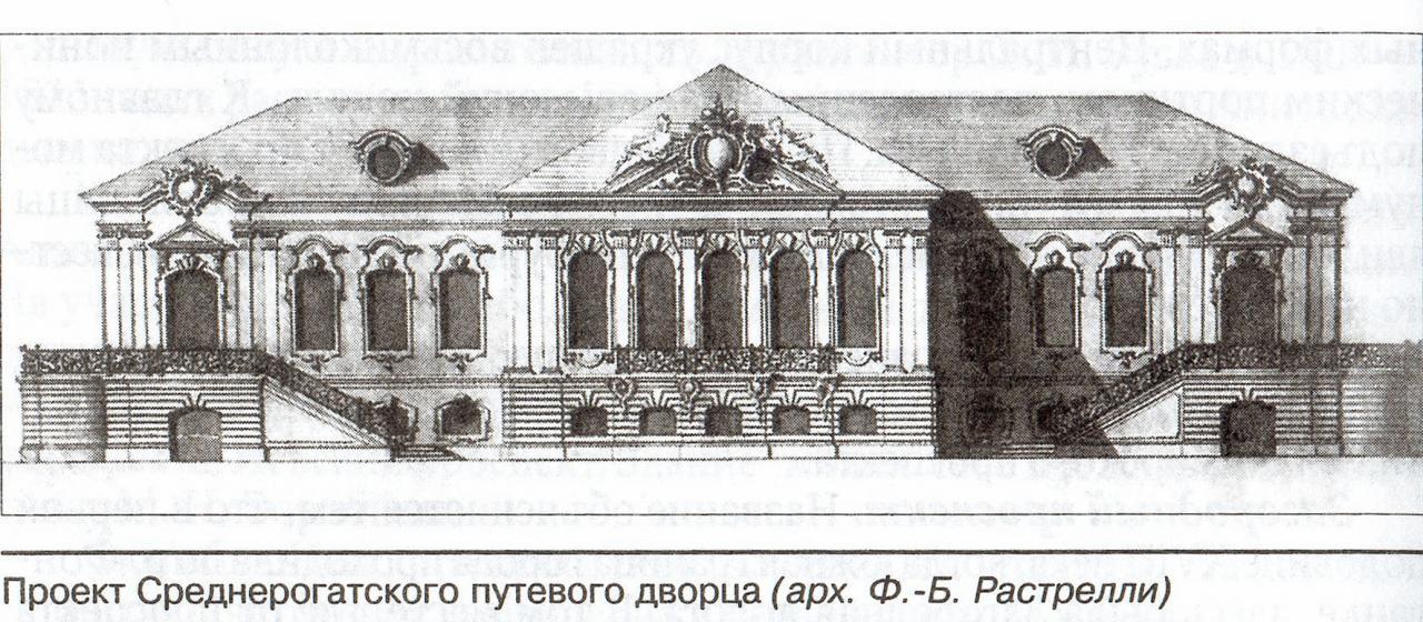 Среднерогатский путевой дворец - история