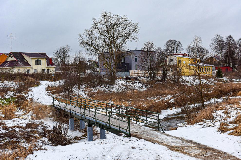 мост через дудергофку в старо-паново