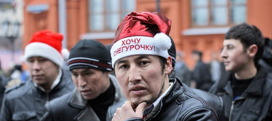 Мигранты устроили в Петербурге массовую драку после ДТП