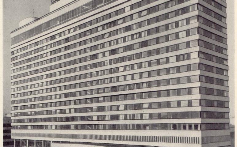 гостиница азимут советская
