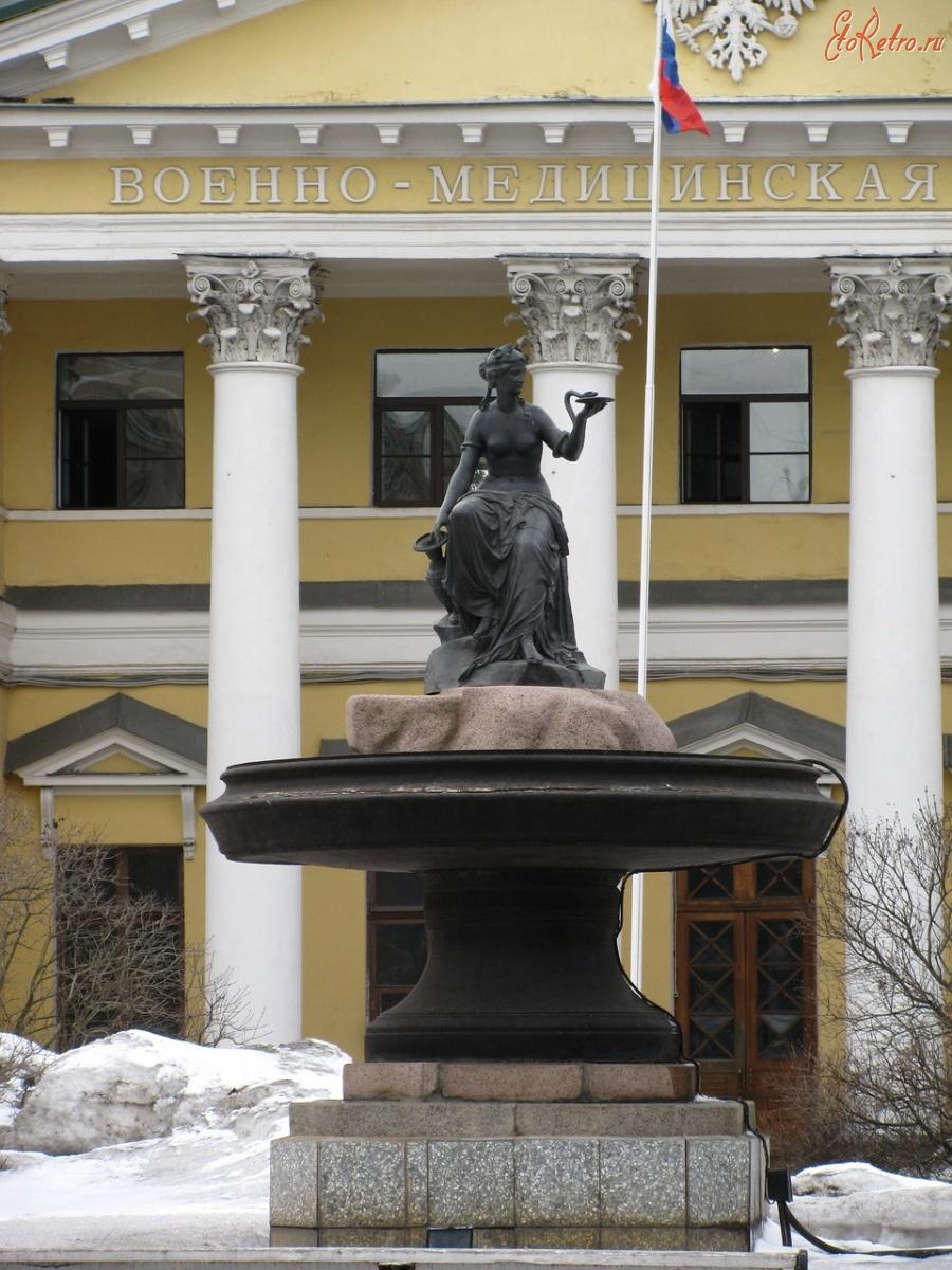 памятник гигиея петербург фото