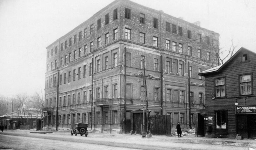 улица расстанная петербург история