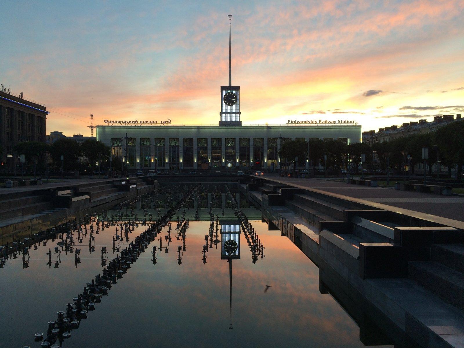 Финляндский вокзал петербург