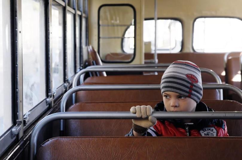 Детей нельзя высаживать из автобуса