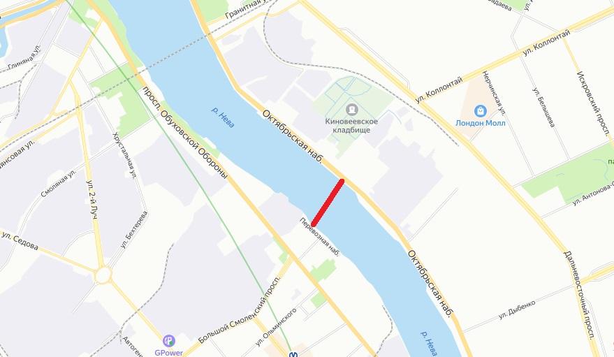 большой смоленский мост петербург